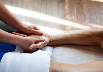 Reflexologia das mãos